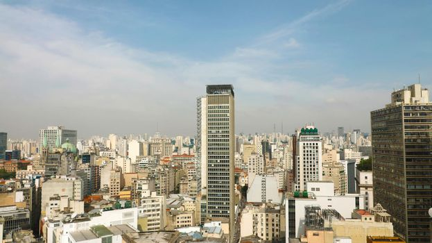 Metropolis Skyline Sao Paulo Downtown, Brazil