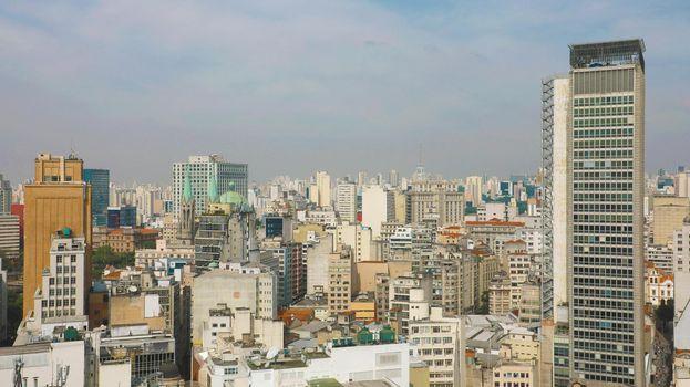Metropolis Skyline Downtown Sao Paulo, Brazil