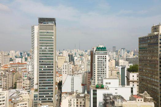 Sao Paulo Skyline Downtown Brazil