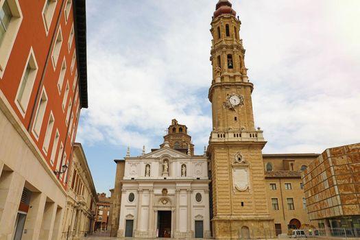Cathedral of the Savior of Zaragoza, Aragon, Spain