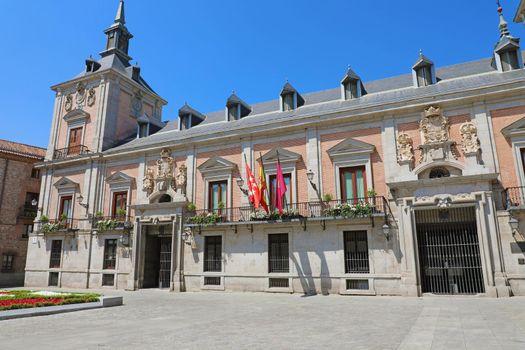 Palace of Casa de la Villa de Madrid, Spain