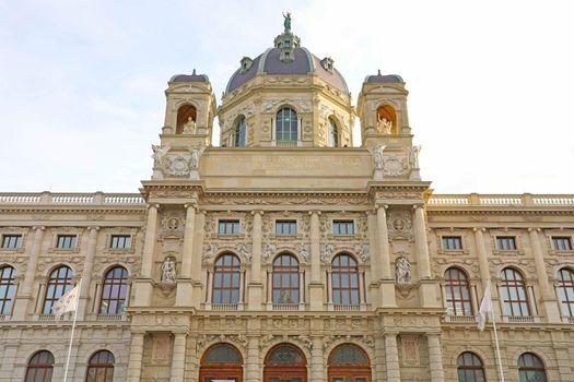 Kunsthistorisches Museum (Art History Museum) in Marie-Theresien Platz square in Vienna, Austria