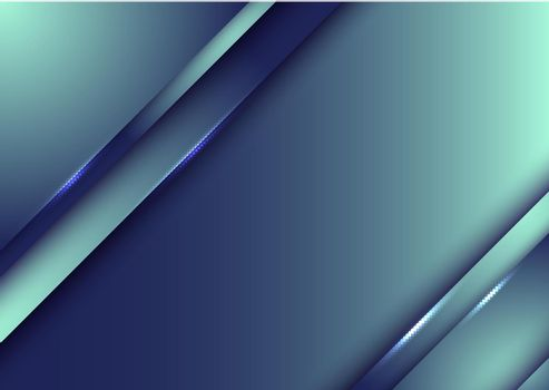 Template design abstract blue gradient stripes overlap layer background with lighting