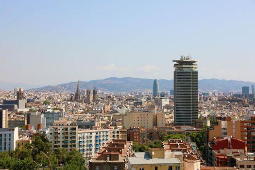 Cityscape of Barcelona, Catalonia, Spain