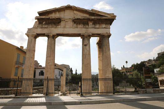 Remains of the Roman Agora, Athens, Greece