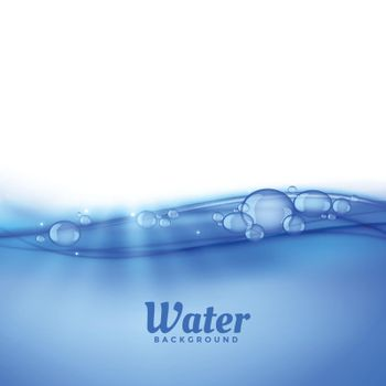 under water background with bubbles