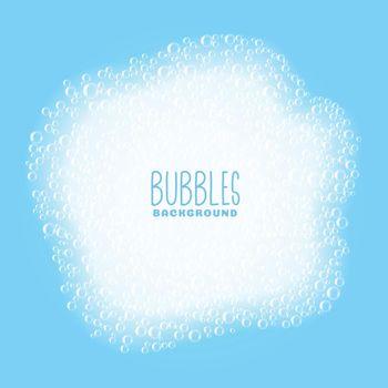 soap or shampoo bubbles background