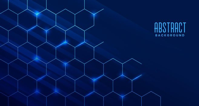 abstract technology background with molecular structure