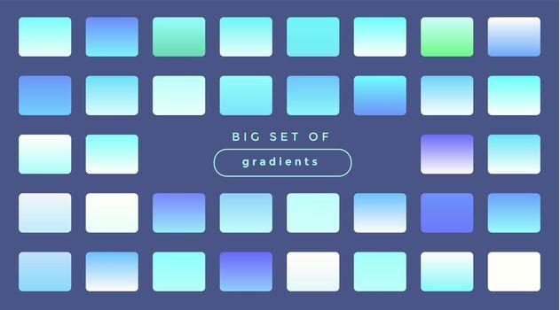 soft holographic gradients big set