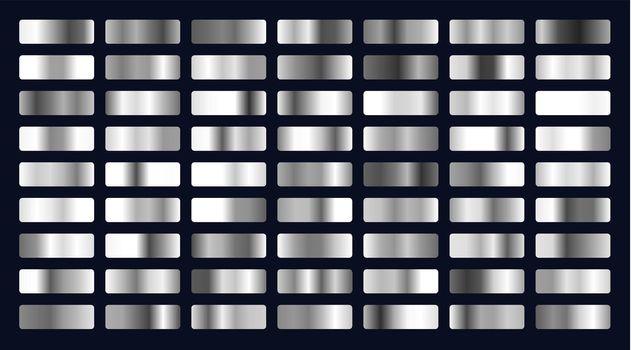 big set of silver gradients