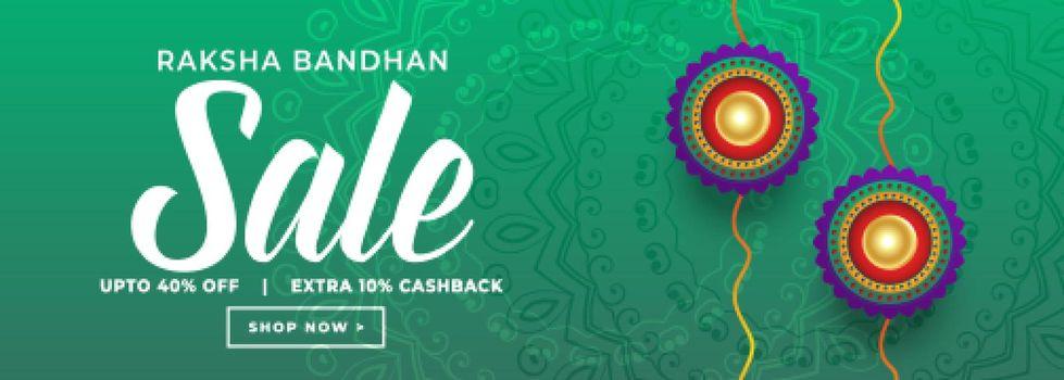 rakshabandhan festival sale banner design
