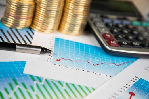 Chart, Bitcoin Trading Concept, virtual money