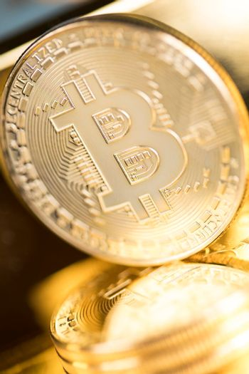Cryptocurrencys new digital money, Bitcoin Coin