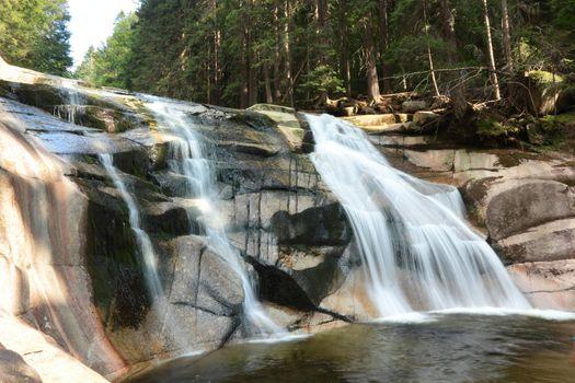 Waterfall Mumlavsky Vodopad