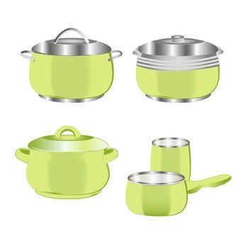 3d saucepan set