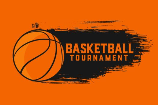 basketball tournament sports abstract background