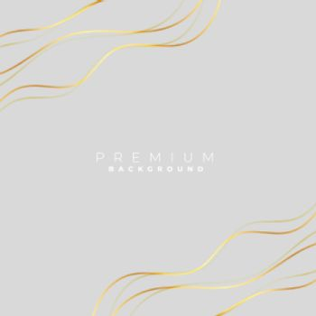 grey background with golden wave lines