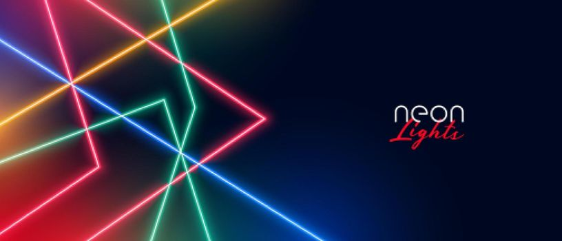 neon led light show background