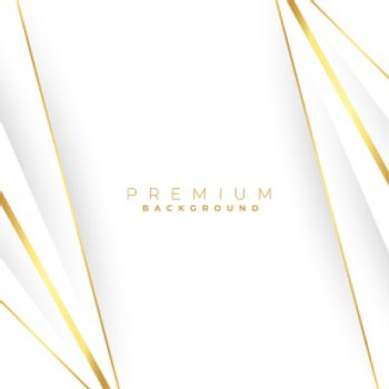 straight golden lines on white background