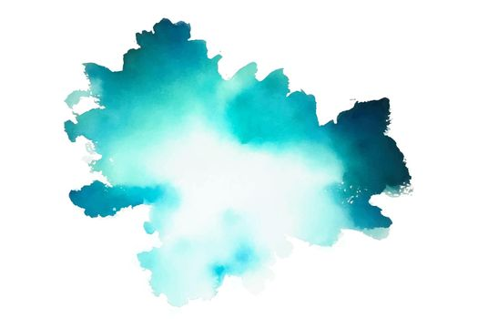 turquoise color watercolor texture background