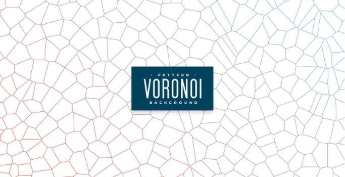 voronoi pattern lines grid mesh background