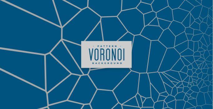 voronoi pattern lines mesh background