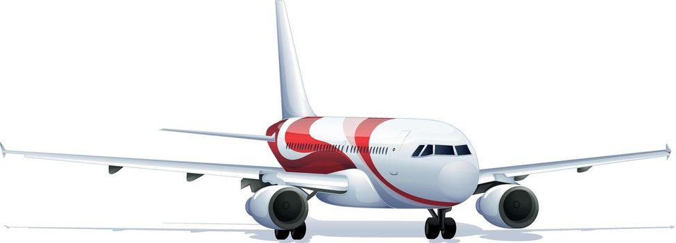 Accurate aeroplane illustration