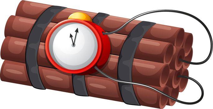 An explosive bomb
