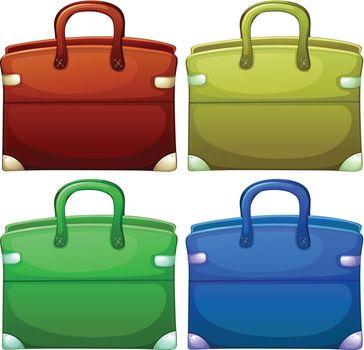 Four handheld bags