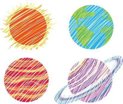 Planet artworks