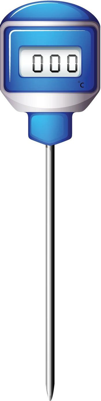 A pointed device with a timer