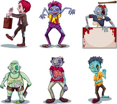 Scary zombies