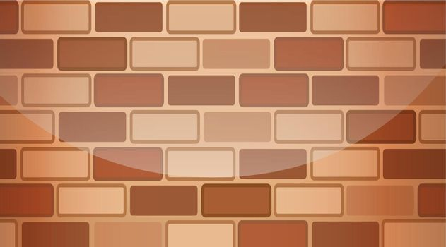 A brown stonewall