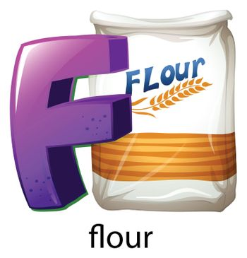 A letter F