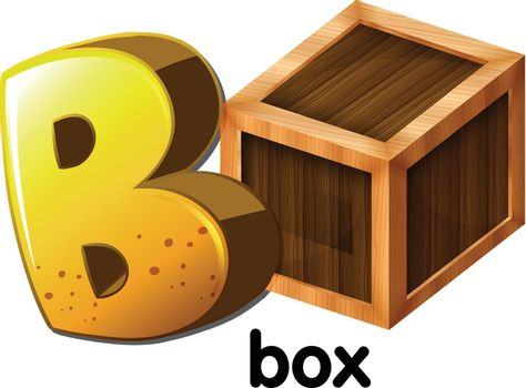 A letter B for box