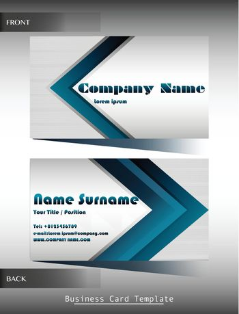 A company calling card