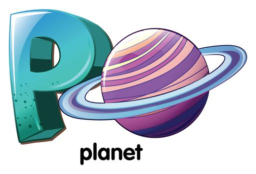 A letter P for planet