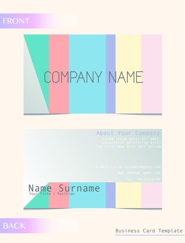 A calling card