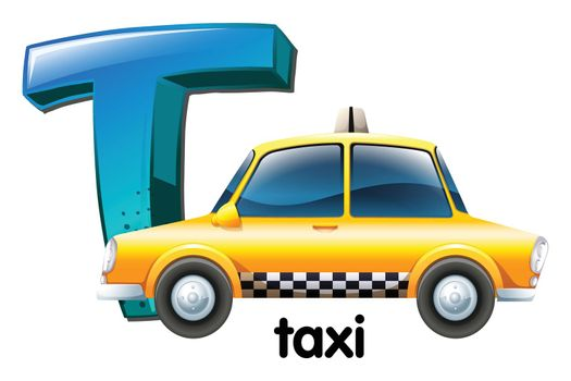A letter T for taxi