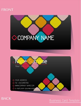 A colourful calling card