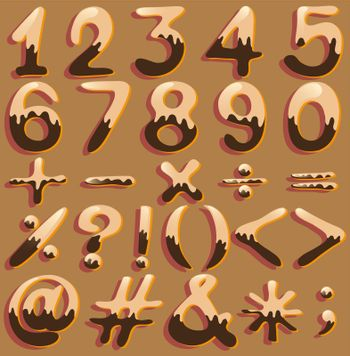 Numerical figures and signs