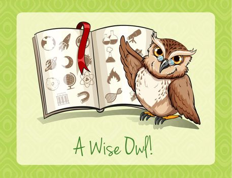 Old saying a wise owl