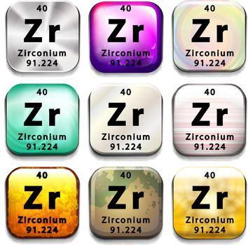A Zirconium element