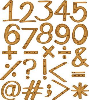 Numerical figures and symbols