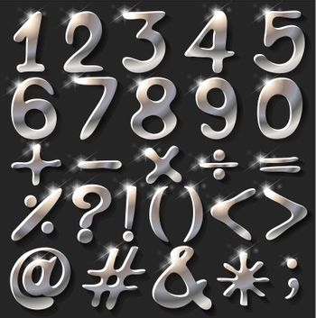 Numerical figures and operations