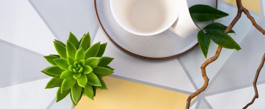 minimalist modern header