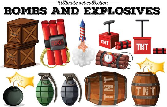 Bombs and explosive objects