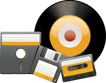 Classic disks and tapes