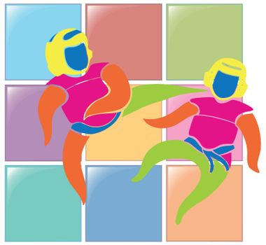 Sport icon for judo