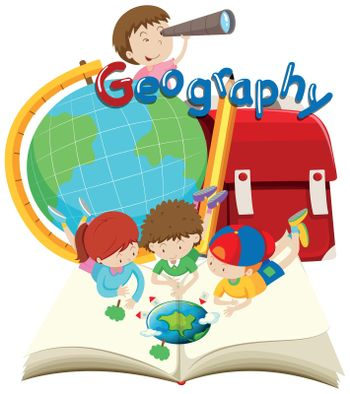 Students and geography subject